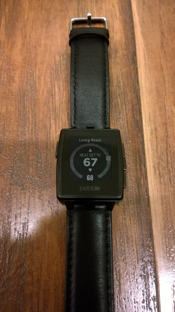 Nest Thermostat Control - Pebble Steel