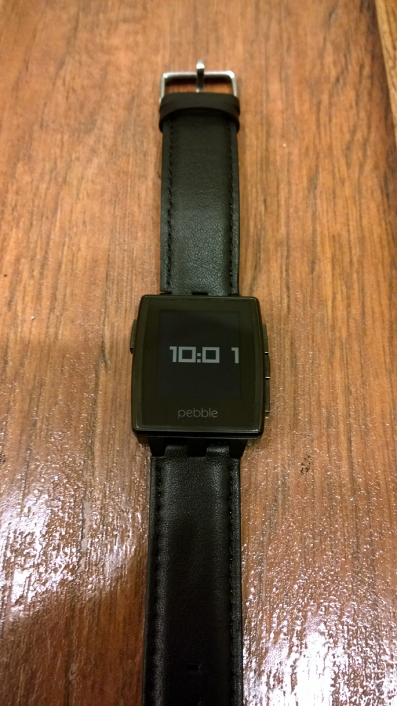 Pebble Steel Watchface