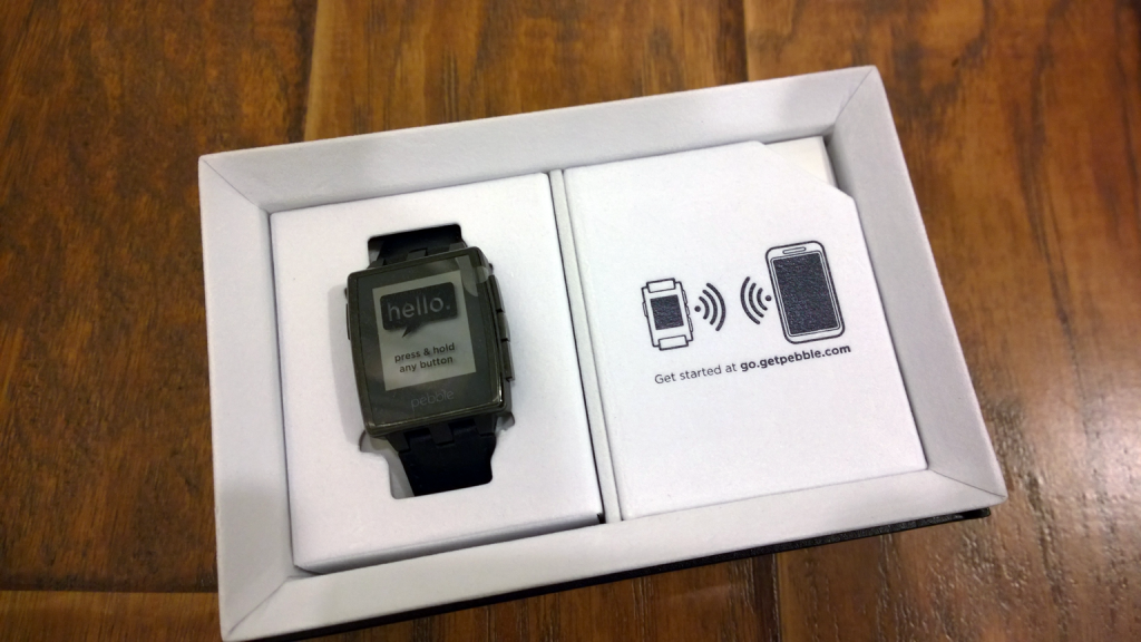 Pebble Steel - Unboxing