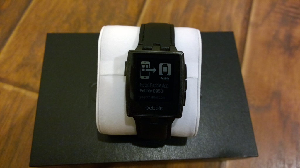 Install Pebble App - Pebble Steel Unboxing